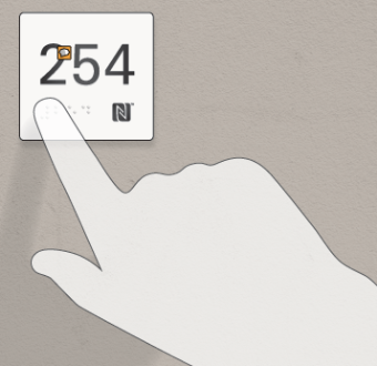 universal access point showing the number 254